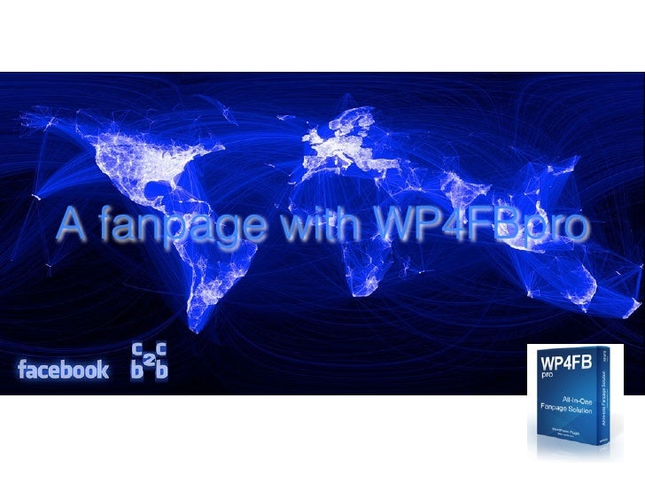 Make a fanpage with WP4FBpro