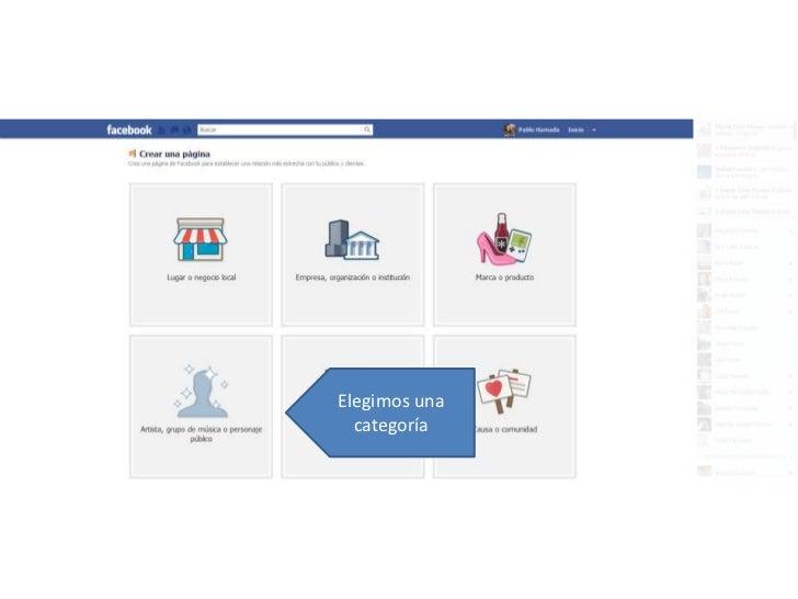 Cómo crear una fanpage en Facebook