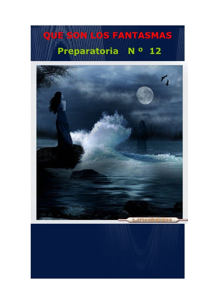 QUE SON LOS FANTASMAS   Preparatoria   N º 12