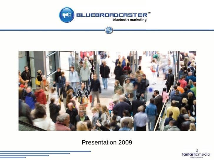 Fantastic Media Bluetooth Marketing Presentation