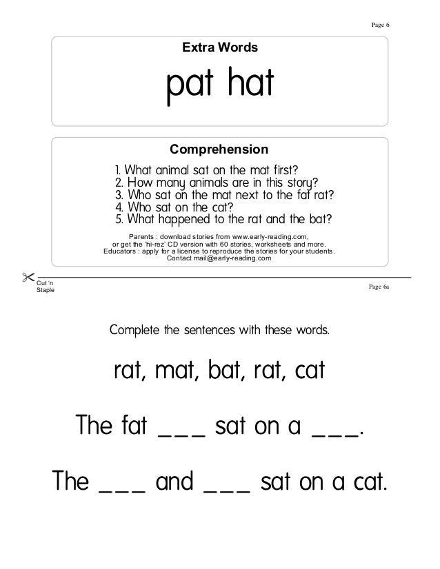 vowel worksheets for first grade