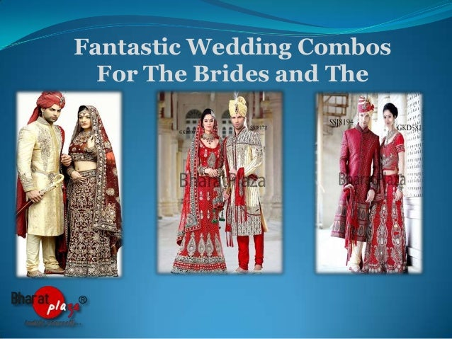 Fantastic Wedding Combos For The Brides and The Grooms