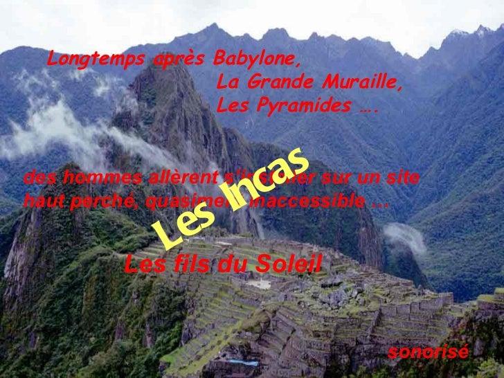 Fantastiques incas