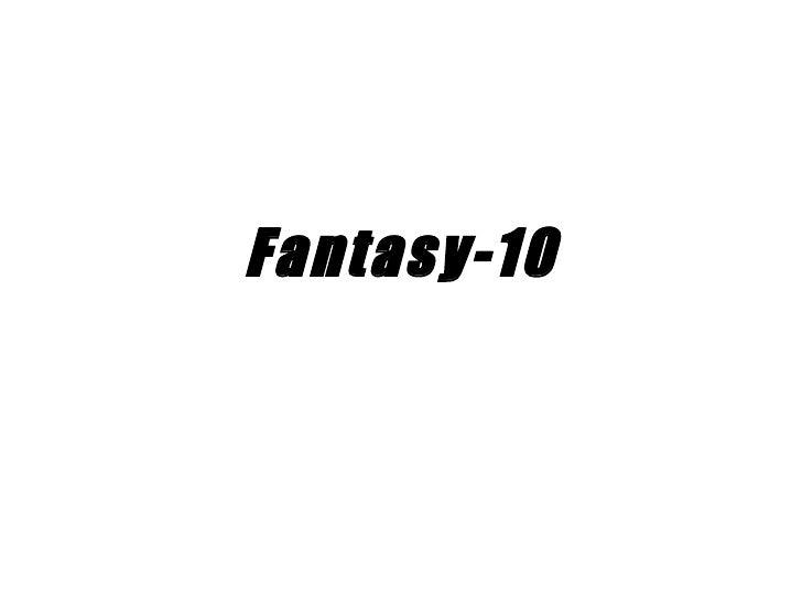 Fantasy-10