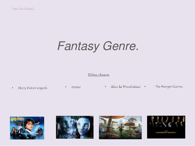 Fantasy genre powerpoint jen.