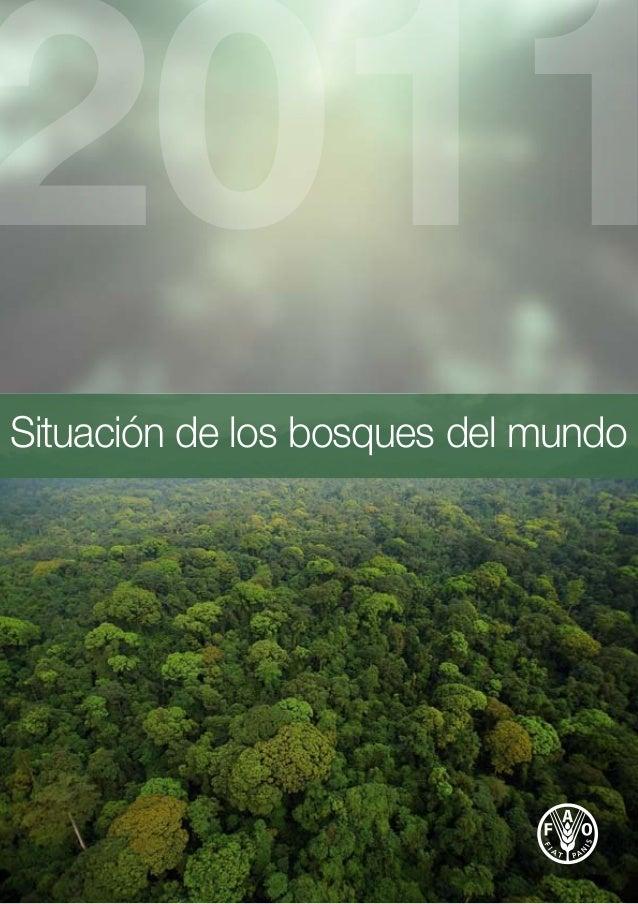 Fao  informe situacion de los bosques en el mundo 2011