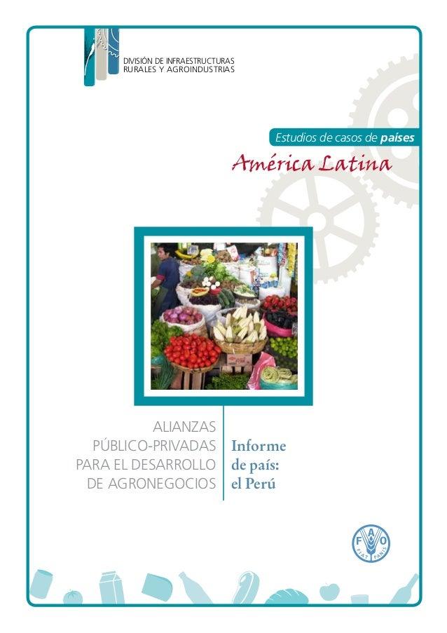 FAO - Peru, casos de exito