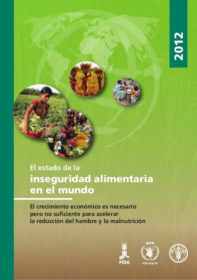 FAO - seguridad alimentaria 2012