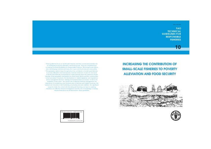 F A O 10  Code  Conduct  Technical  Guidelines  Small  Scale  Fisheries