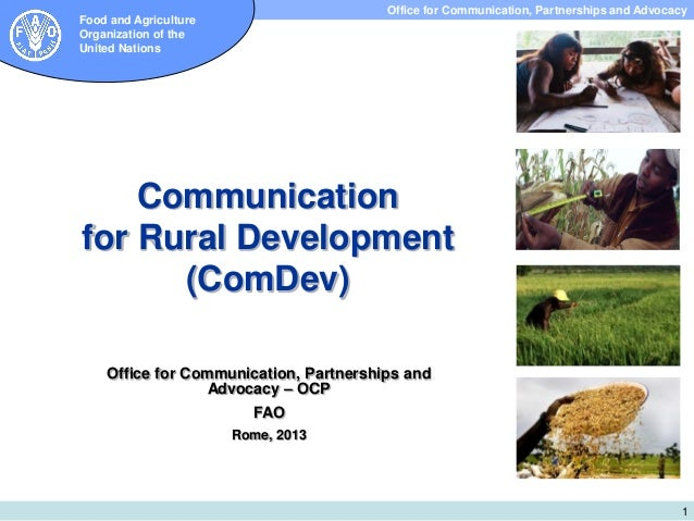 Office for Communication, Partnerships and Advocacy Subdirección de Investigación y Extensión  Food and Agriculture Organi...