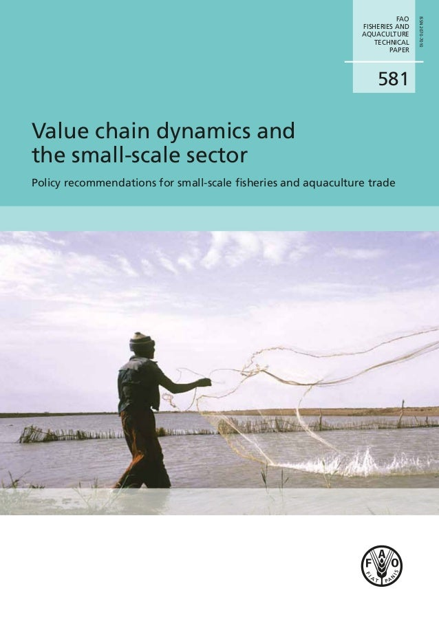 Fao fisheries and aquaculture technical paper volume 581