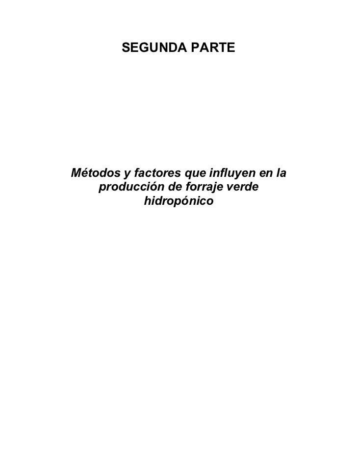 Fao Manual Forraje Verde HidropóNico02