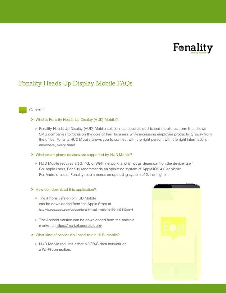 Faq fonality hud mobile faq aug-11