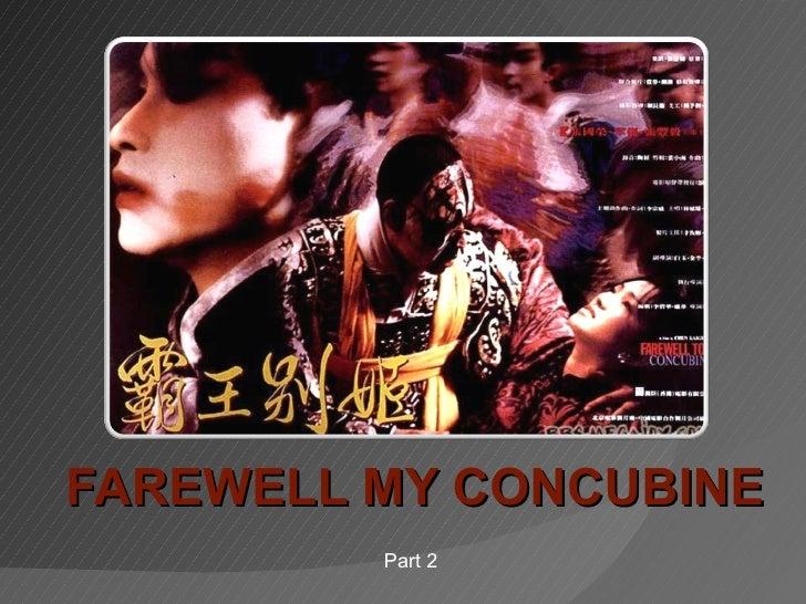 Farewell My Concubine 2