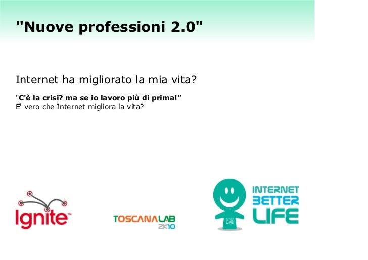 Elena Farinelli - Nuove professioni 2.0