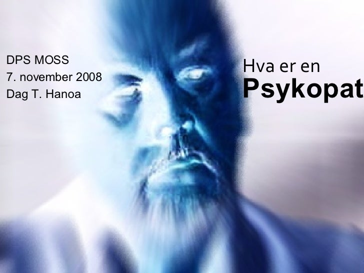 psykopat