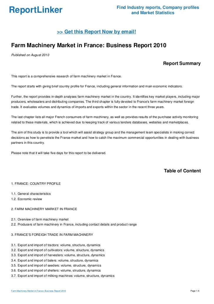 Find Industry Reports Company