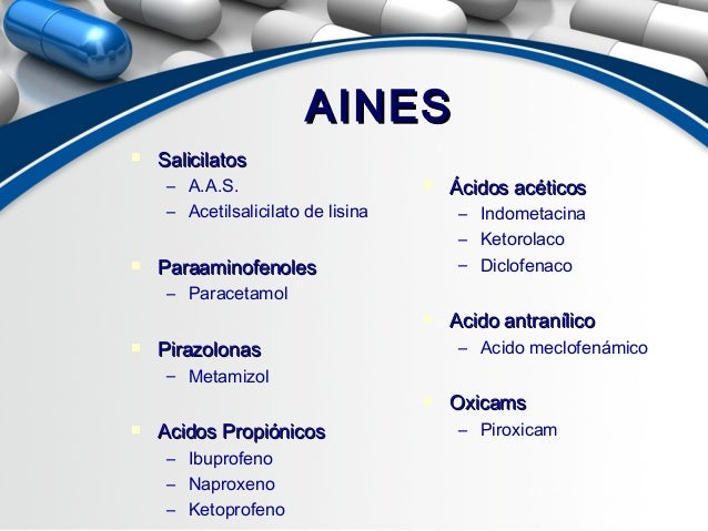 analgesicos antipireticos no esteroideos
