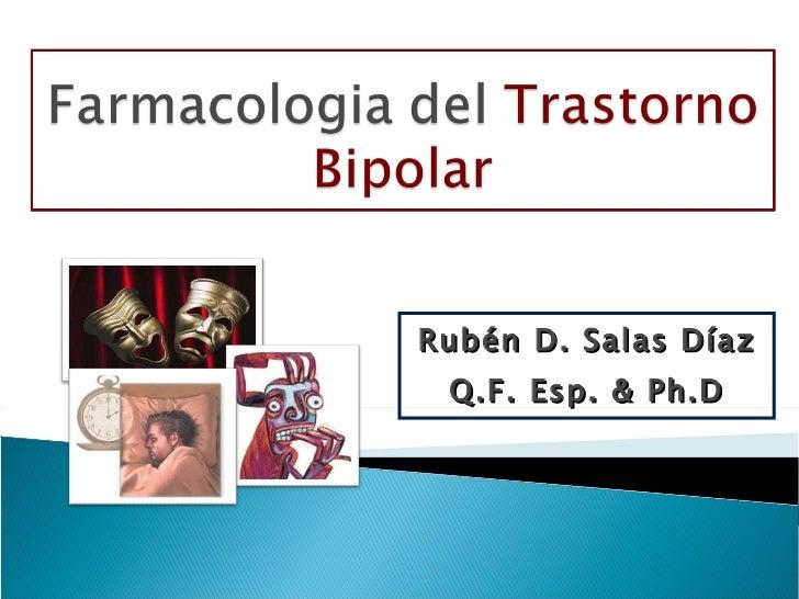 Rubén D. Salas Díaz Q.F. Esp. & Ph.D