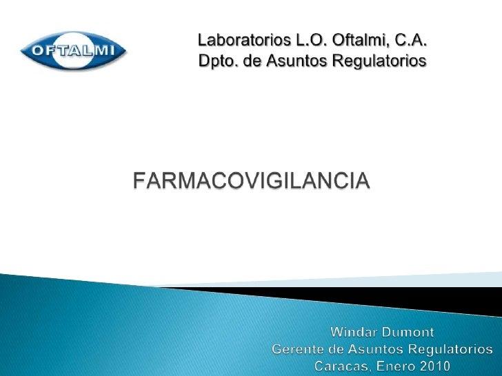 Farmacovigilancia:Ciencia que estudia los riesgos asociados a los medicamentos.Reacciones Adversas a los Medicamentos:Ef...