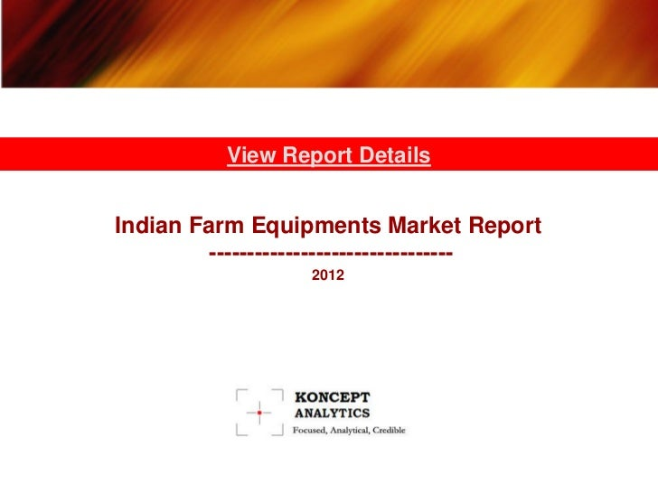 Indian Agricultural Equipment Market: Segment Analysis