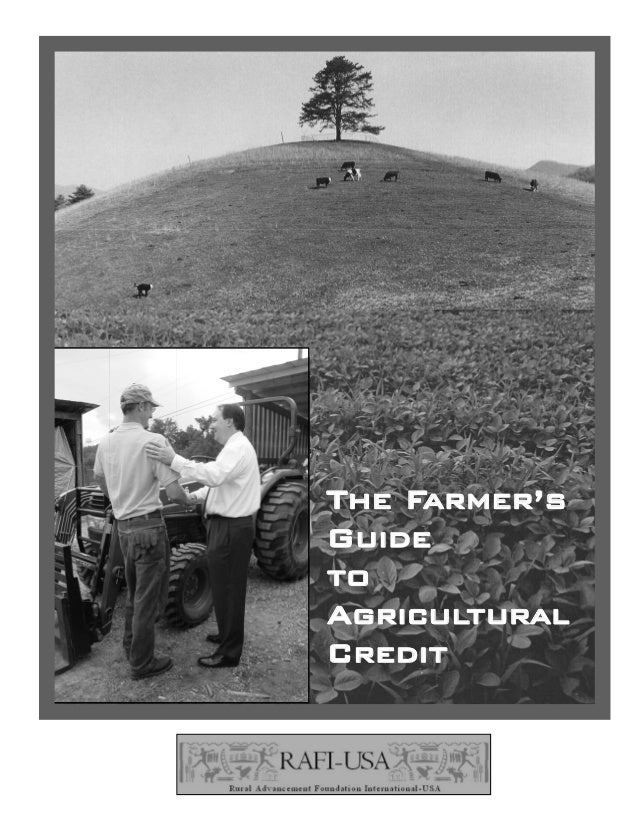 The Farmer'sGuidetoAgriculturalCredit