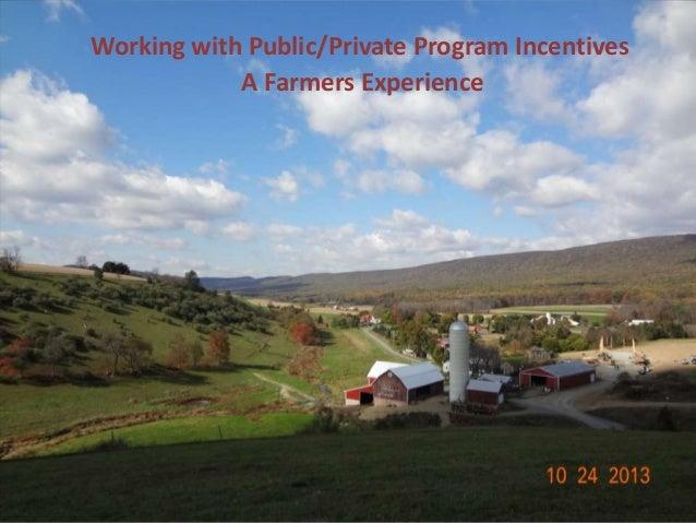 Farmer's presentation