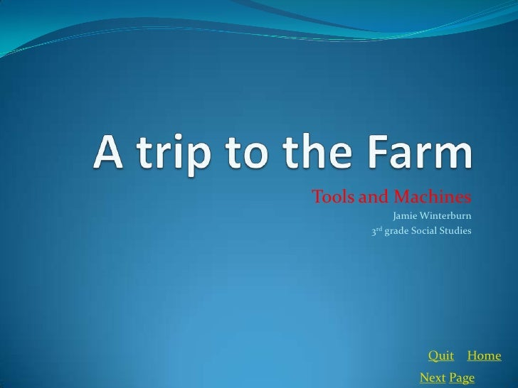 Farming Powerpoint For Ed 200