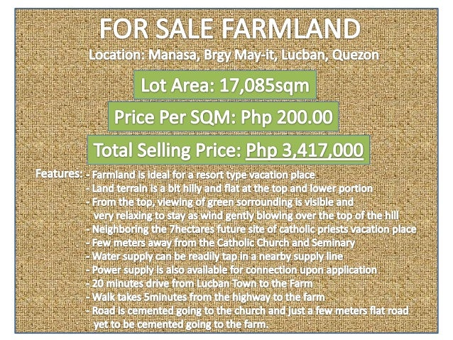 For Sale Farmland-Ideal for a Resort Type Vacation Farm