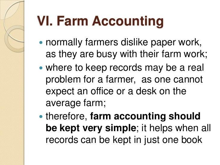 Custom paper accounting