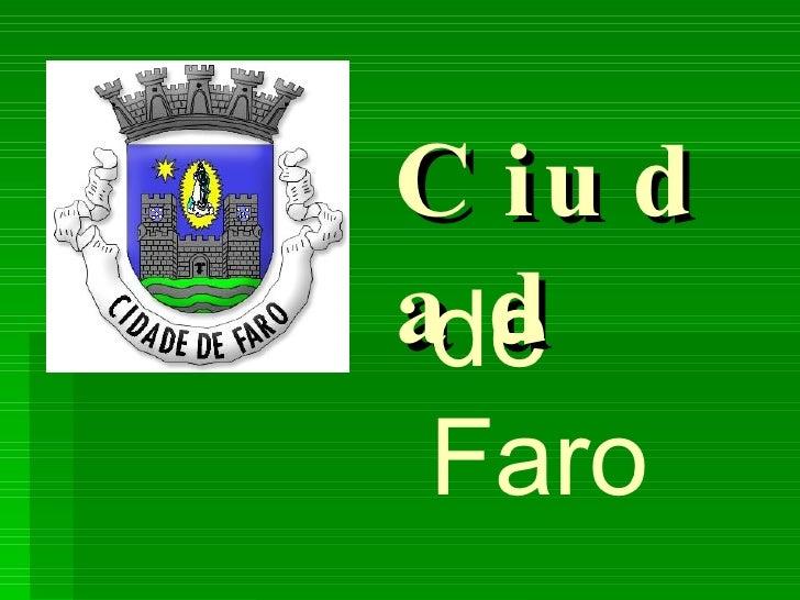 Ciudad de Faro