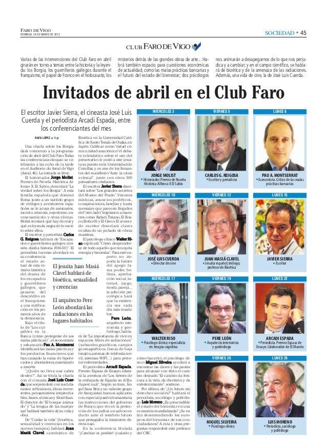 FARO DE VIGODOMINGO, 24 DE MARZO DE 2013                                                                                  ...
