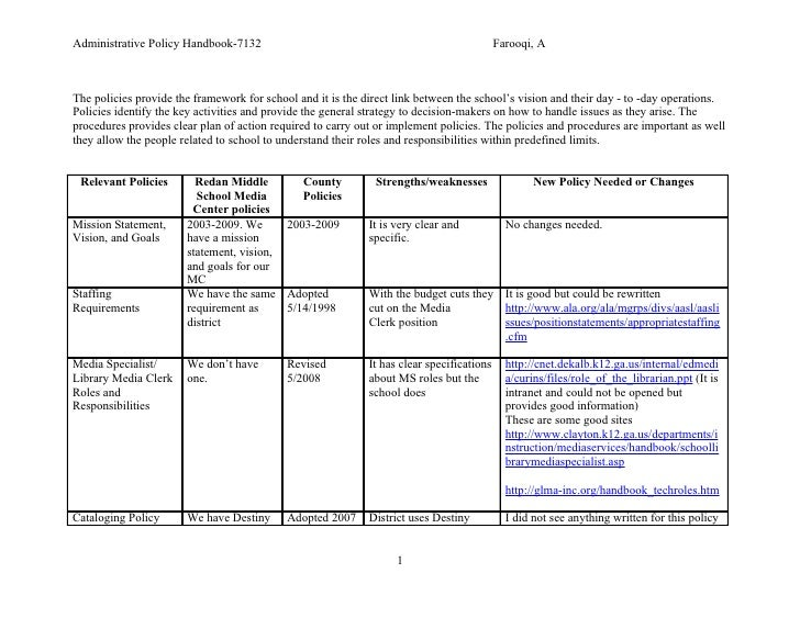 Administrative Policy Handbook-7132                                                        Farooqi, A    The policies prov...