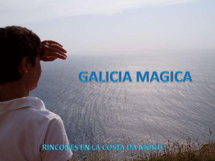 GALICIA MAGICA<br />RINCONES EN LA COSTA DA MORTE<br />
