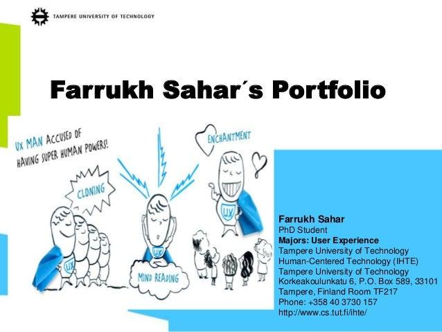 Farrukh sahar´s portfolio