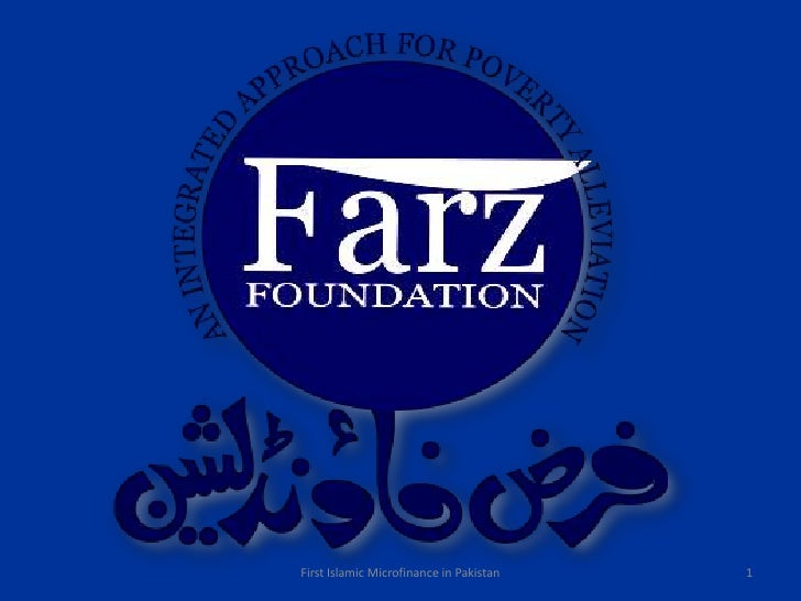 1<br />First Islamic Microfinance in Pakistan<br />