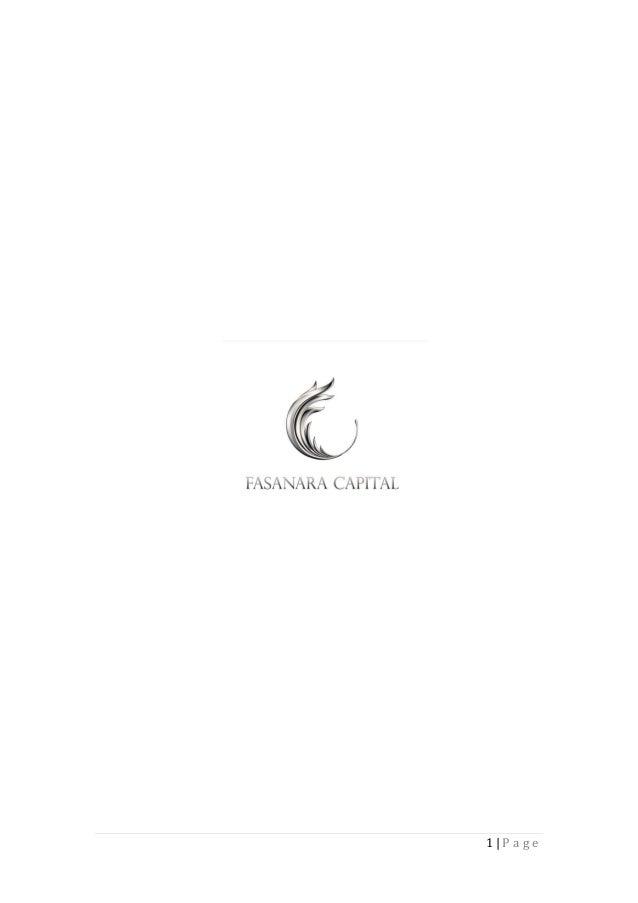 Fasanara Capital   Investment Outlook   May 3rd 2013