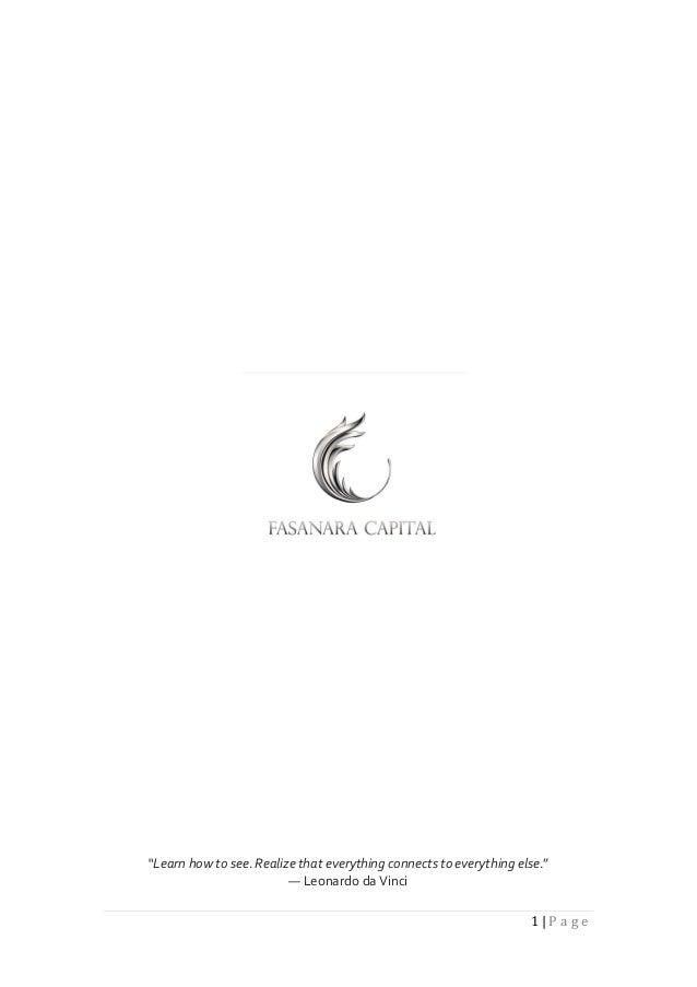 Fasanara Capital   Investment Outlook   November 4th 2013