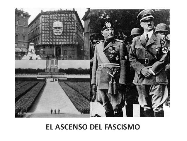 Crisis de las democracias parlamentarias y ascenso del fascismo