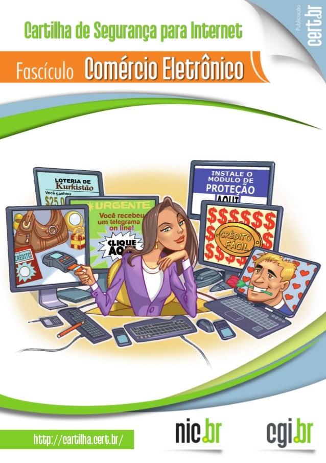 Cartilha Segurança na Internet - CERT - Fasciculo comercio-eletronico