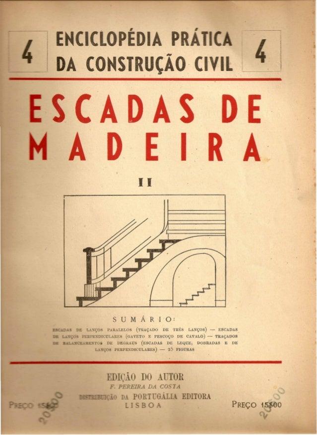 Fasciculo 04 escadas de madeira