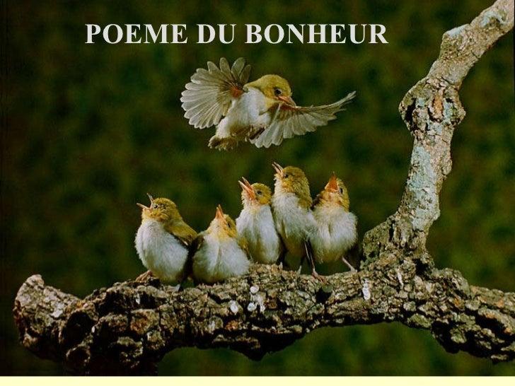 POEME DU BONHEUR