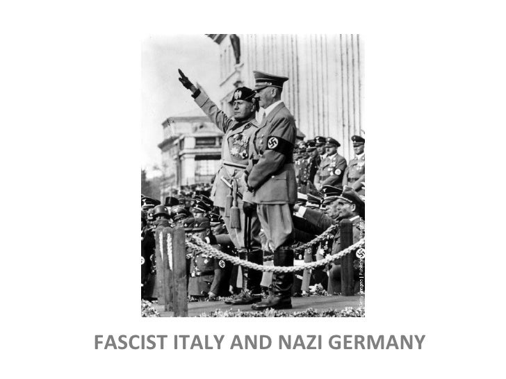 an overview of fascism in germany and italy Fascism in europe has 5 ratings and 1 review michael said: this collection of essays on national characteristics of fascisms in europe has aged somewh.