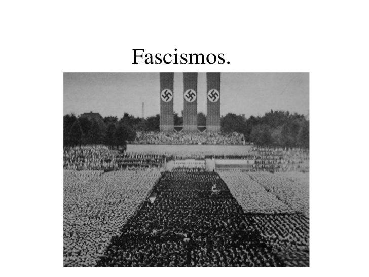 Fascismos.<br />