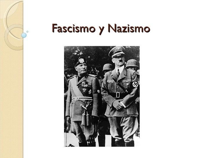 que es fascismo y nazismo yahoo dating