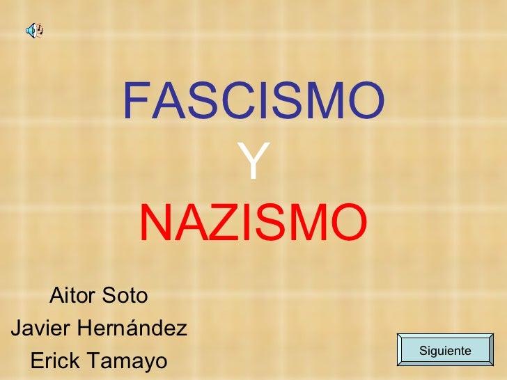 Fascismo y nazismo2bis