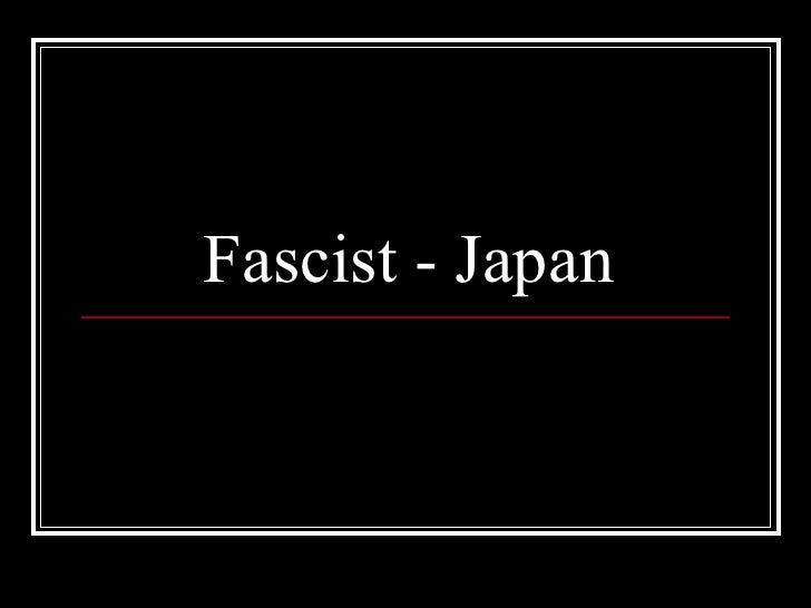 Fascist   japan