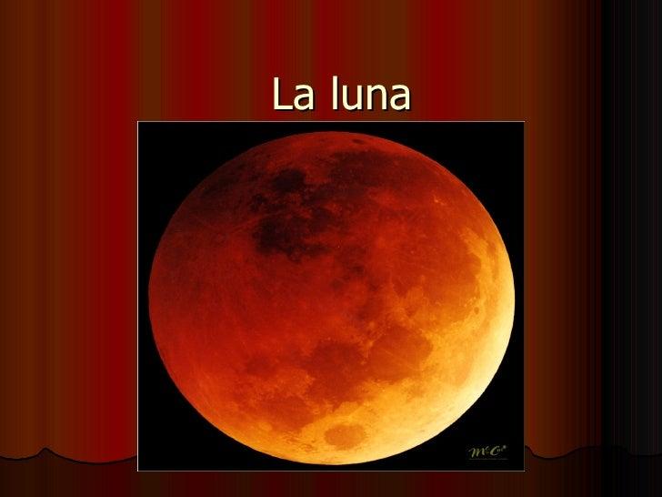 Fases de la luna ppt