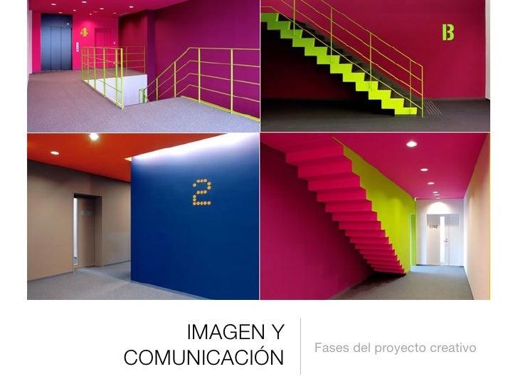 IMAGEN Y                Fases del proyecto creativo COMUNICACIÓN