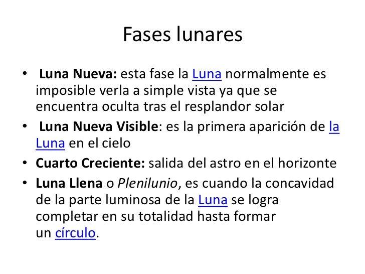Fases Lunares Presentacion
